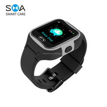 2018 New Design Kids Smart Watch with GPS Tracking Voice chat SOS call anti lost