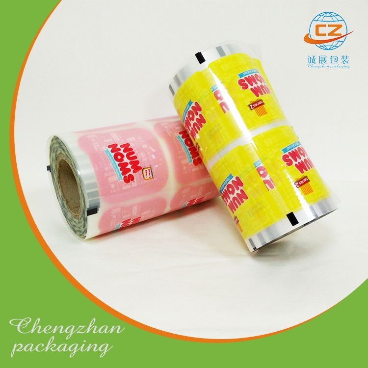 Pet jumbo plastic transparent mylar film roll