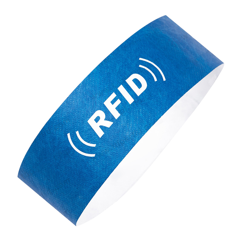 Sparkle Safe 13.56Mhz rfid soft pvc disposable ntag213 215 216 wristband