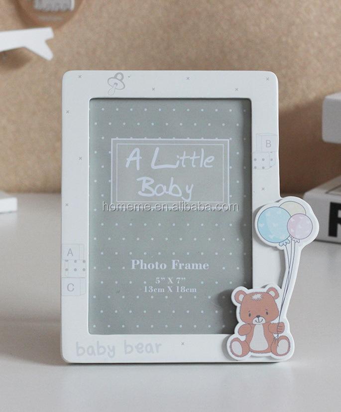 홈 & 나에게 아기 곰 귀여운 사진 프레임 나무 사진 프레임-액자 ...