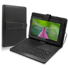 10 inch universal protective leather case + Micro USB keyboard for 10 inch tablet pc