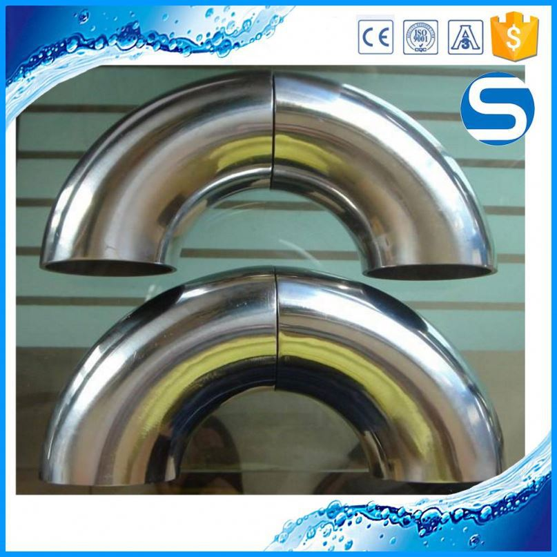 Hot Selling gas pipe fitting stainless steel elbow connectors