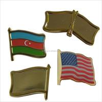 school uniform logo badge Metal flags all countries