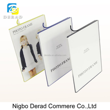 Transparent Book Shape Hot Bending Picture Frames