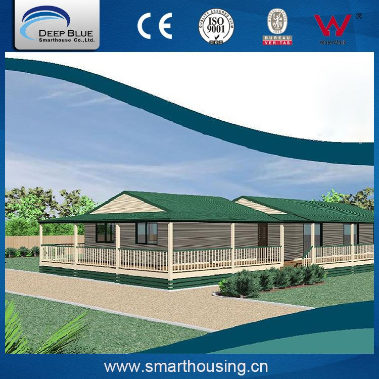 Fashionable designed fabricated shop house