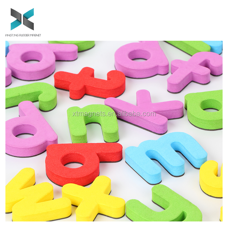 Die cut Alphabet EVA Fridge Magnet/Kids Education Alphabet Eva Foam Fridge Magnet