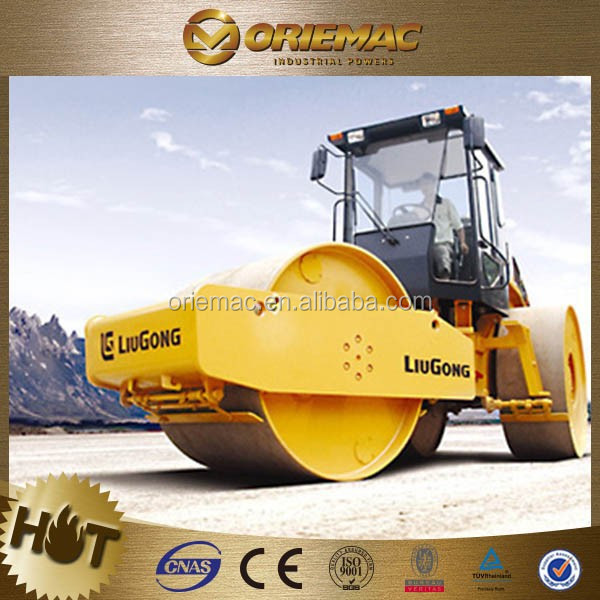 Liugong double drum roller compactor machine 624 new road roller price