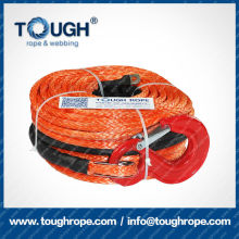 TOUGH ROPE synthetic 4x4 winch rope with hook thimble sleeve packed as full set ( FOR WINCH )