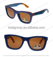 Canadian maple handmade recycled skateboard polarized vintage gayfarer man and woman china wood sunglasses