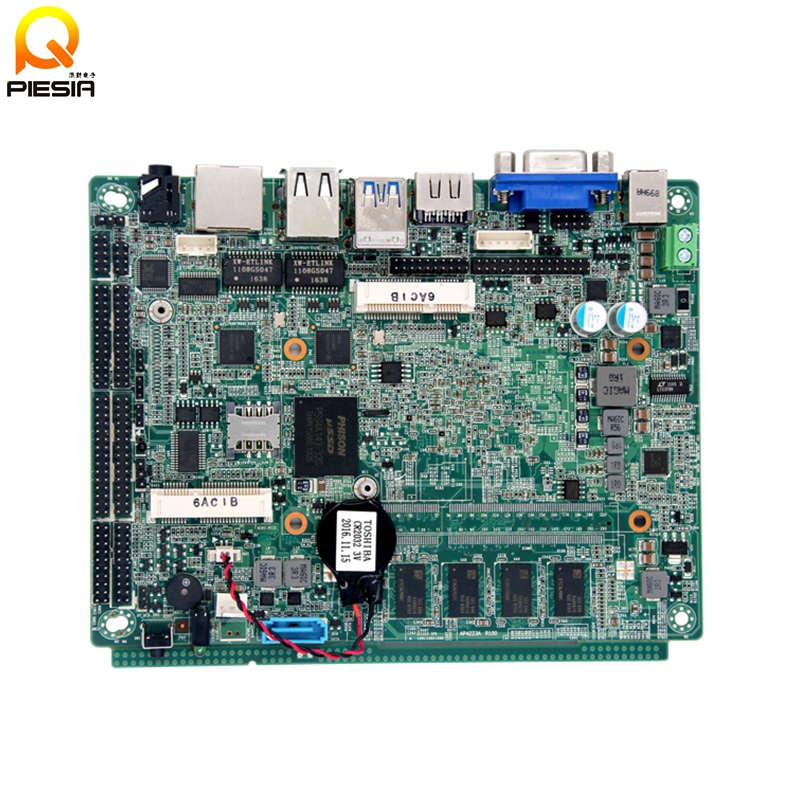 Intel Apollo Lake Gigabit Lan Firewall motherboard DC 12V multi lan board