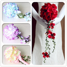 Handmade wedding artificial rose decorative flower for party&event decoration