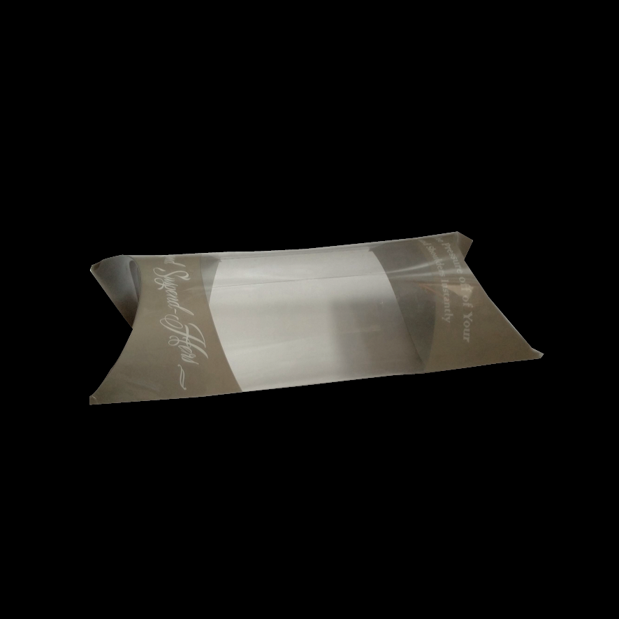 printing packaging transparent pillow box