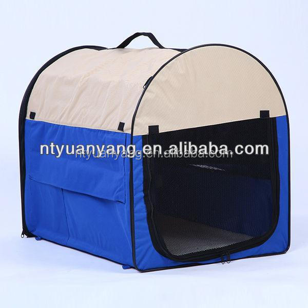 soft polyester kennel cage soft pet carrier bag travel foldable bag