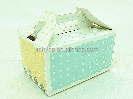Customized paper cake boxes package