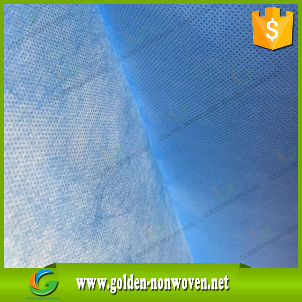 SMS nonwoven for Medical supplies/colth for hospital bed sheet/SMMS non woven fabric for Medical supplies