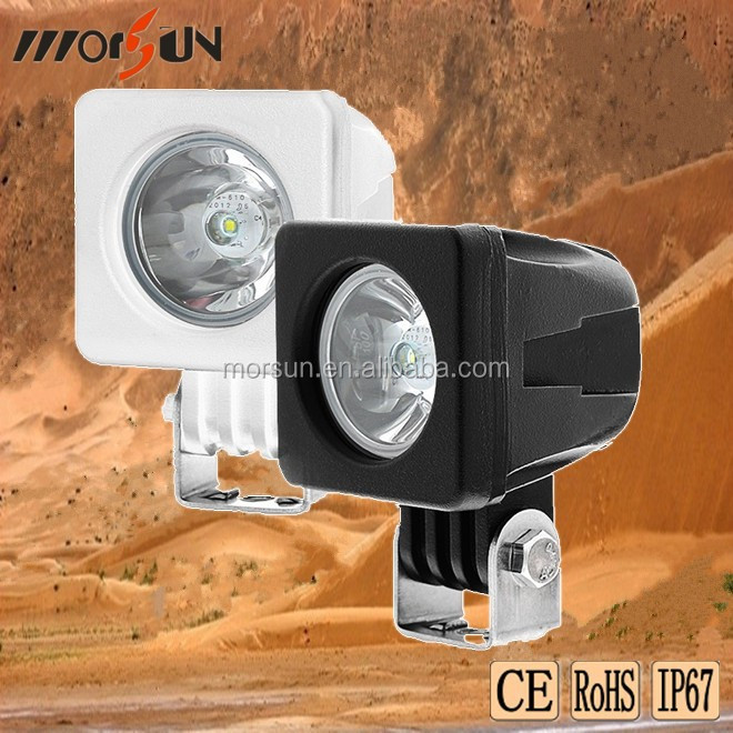 off road car led light 12v 10w led chip USA, automobile led work lamp 10w