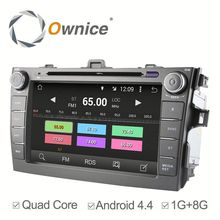 Ownice Android 5.1 Car dvd gps for Toyota Corolla 2006 Wifi Radio DVD Capacitive