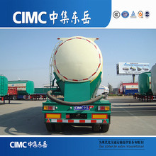 CIMC Factory Price Dry Bulk Cement Transporting Complete Tanker Truck Trailer