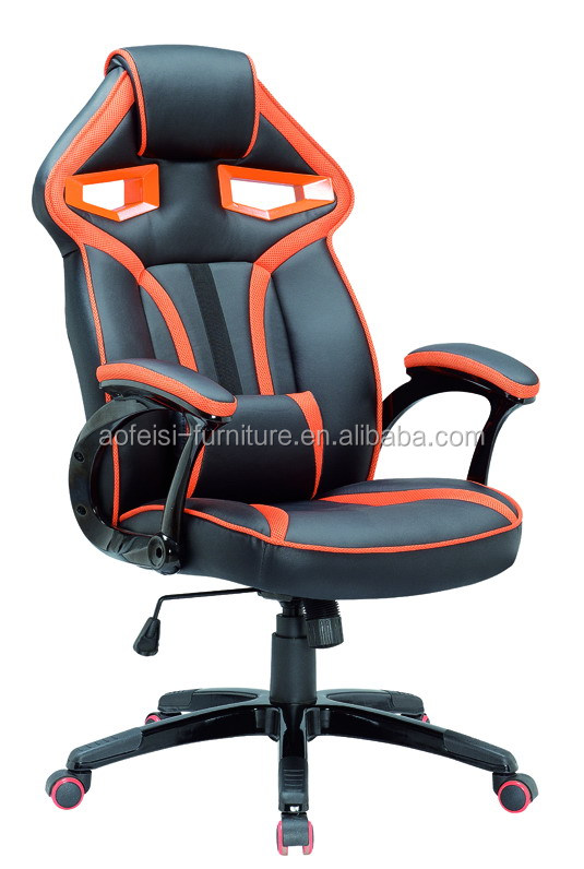 PU leather Racing Gaming adjustable racing style Office chair for Gaming plcace chair using
