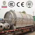 2014 hot sale high oil yield good quality JZ Leaders Manufacture Pyrolysis Plastic Scrap