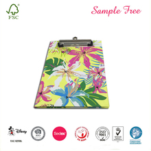Colorful A4 Clipboard File Folder Dengan Saku