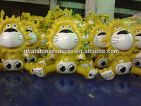 2013 advertising pvc inflatable lion