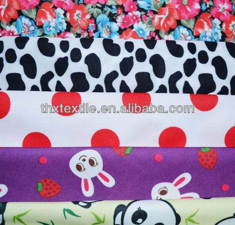 waterproof and breathable lovely printed PUL fabric