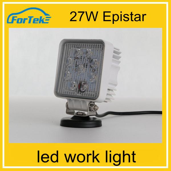 Real Manufacturer Wholesale 27w 20000 lumen led work light