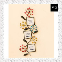 Flower photo frame wall decoration European style phtoh frame