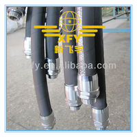 Rubber Auto Hydraulic Brake Hose Assembly