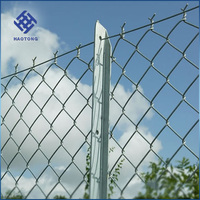 Professional factory made cheap manufacture aluminium chain link fence