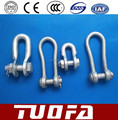 U-shackle for power line fittings