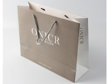 Art Paper Shopping Bag Design Printed for Packaging
