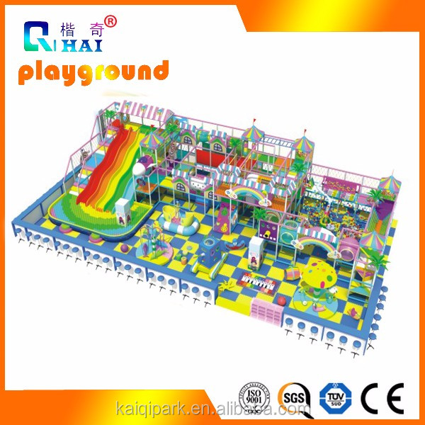 Candy design <strong>Kids</strong> Play Center Indoor Playground With Plastic outdoor playground car racing games free play