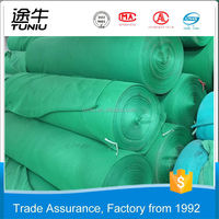 High Shade rate, windbreak rate, Flame retardent rubber mesh netting/Orange/Blue/Green HDPE Construction Scaffolding Safety Net