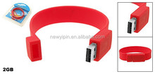 Promotion products!! promotional usb gift usb flash, colorful usb wristband, cheap silicone usb bracelet