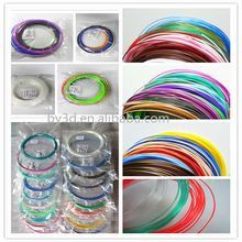 Filament for 3d printer pen ABS 1.75mm Variety of 12 Different Colors 25g/pcs