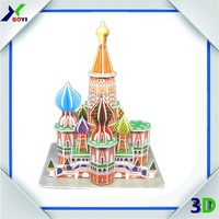 Buy 3d world architecture model puzzle in China on Alibaba.com