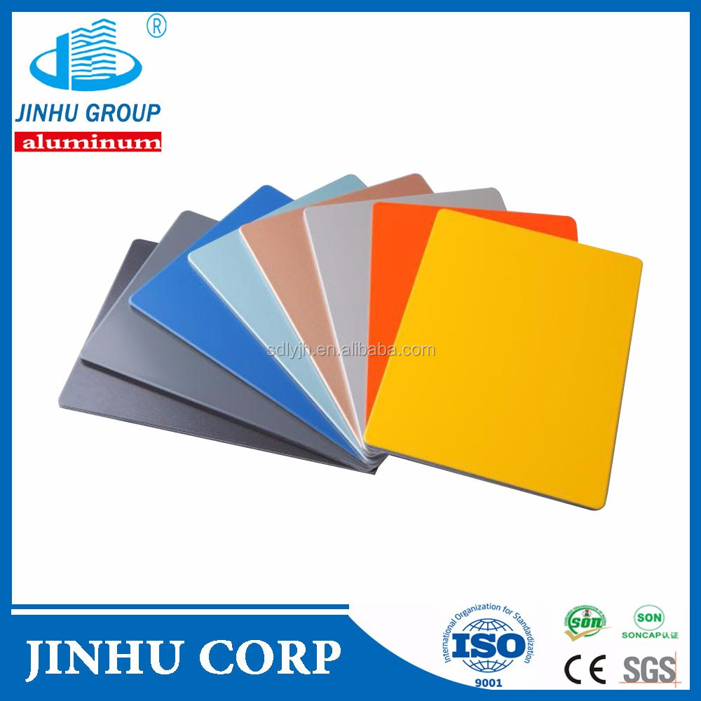 JX8817 PEAK YELLOW Class b1 Aluminum Composite Panel /wall panel board manufacture