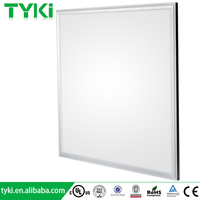 5 years warranty shenzhen wholesale price DLC UL 600x600 10mm hanging 6x6 led panel light