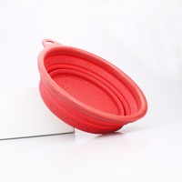 Cheap Price Eco-friendly Outdoor Collapsible Dog Travel Silicon Pet Feed Water Bowl for Dog