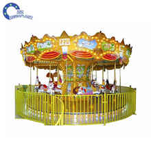animal model carousel amusement park