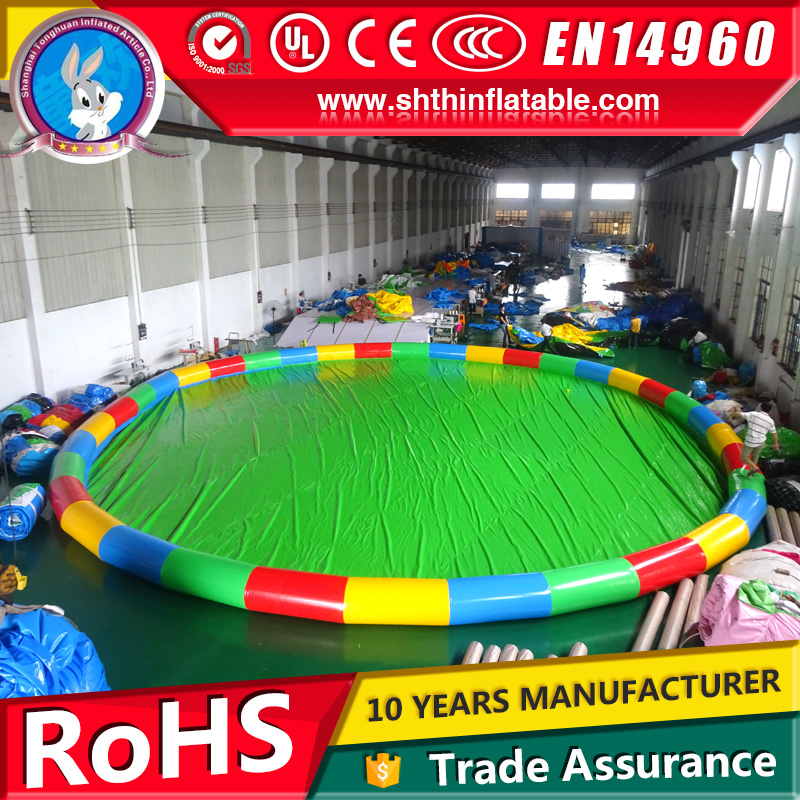 Customized large inflatable swimming pool for kids on sale