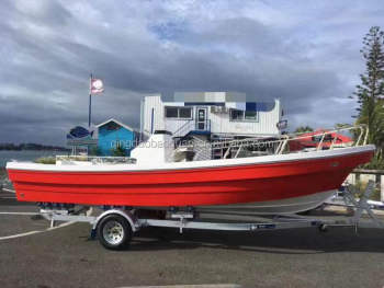 Fiberglass Panga fisher boat 22 D Fishing Boat