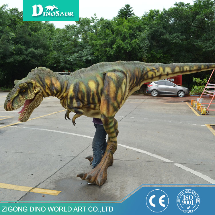 Wholesale fashion design Halloween costumes custom gold dinosaur balloon