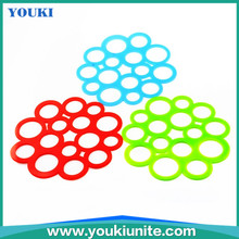high quality colorful dish plate cup mat