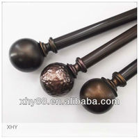 Hot sales Poly / Metal / Plastic / Wooden Curtain Rod