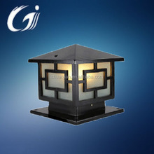 HOT garden stone factory led lamp outdoor pillar gate light with 5w