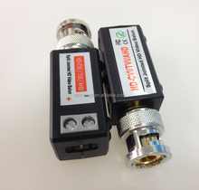 hd balun video twisted pair bnc to rj45 passive ahd cvi tvi balun connector converter