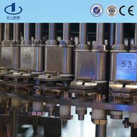 Plastic bottle washing filling sealing machinery
